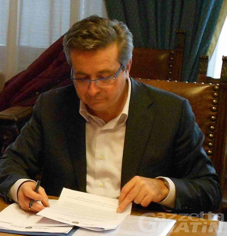 Marco Viérin: «Linea dura contro le imprese inadempienti»