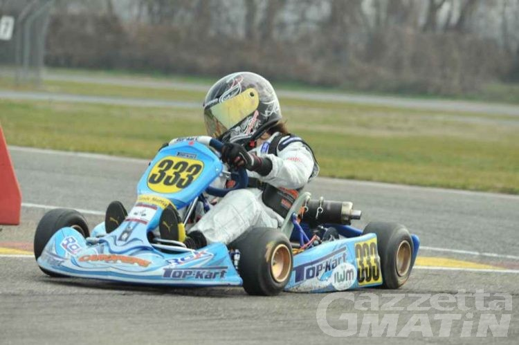 Kart: Mattia Giorla chiude al quarto posto