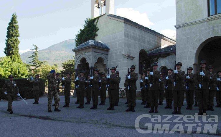 Esercito: Il generale Bernardini ha visitato il Centro Addestramento Alpino