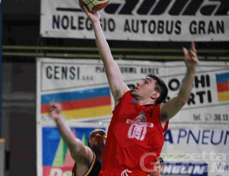 Basket: la Moretti cala il poker a Fossano
