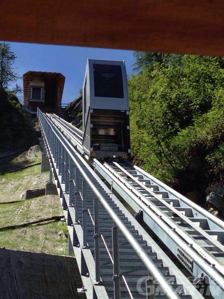 Turismo: Valtournenche, in funzione ascensore conca Cheneil