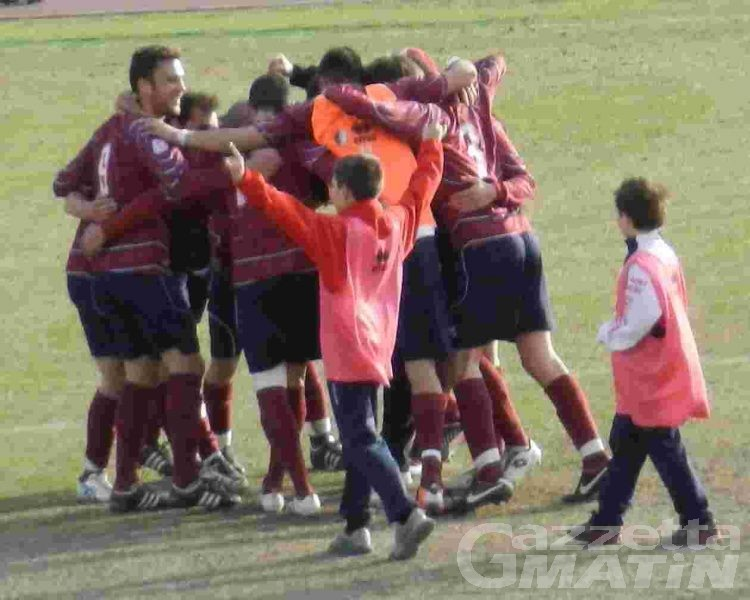 Calcio: St-Chri di misura, Aygre a valanga