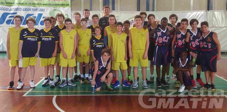 Basket giovanile: il Trecate vince al PalaMiozzi