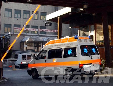 Incidenti stradali: 5 giovani in Pronto soccorso