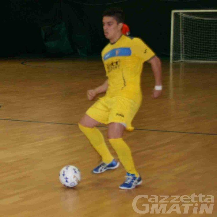 Calcio 5: vince l'Aosta, l'Ayma sprofonda