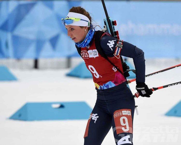 Biathlon: Comola-Braunhofer lontani dalle medaglie