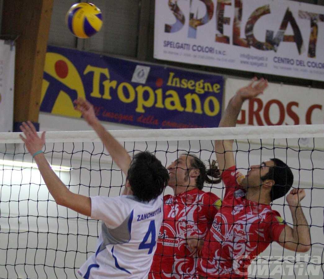 Volley: all'Olimpia riesce la rimonta, la Cogne si ferma al tie break