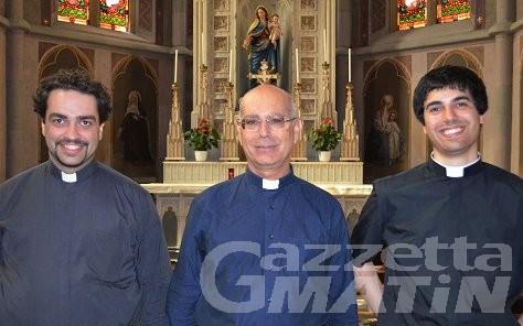 Tre nuovi sacerdoti per la diocesi di Aosta