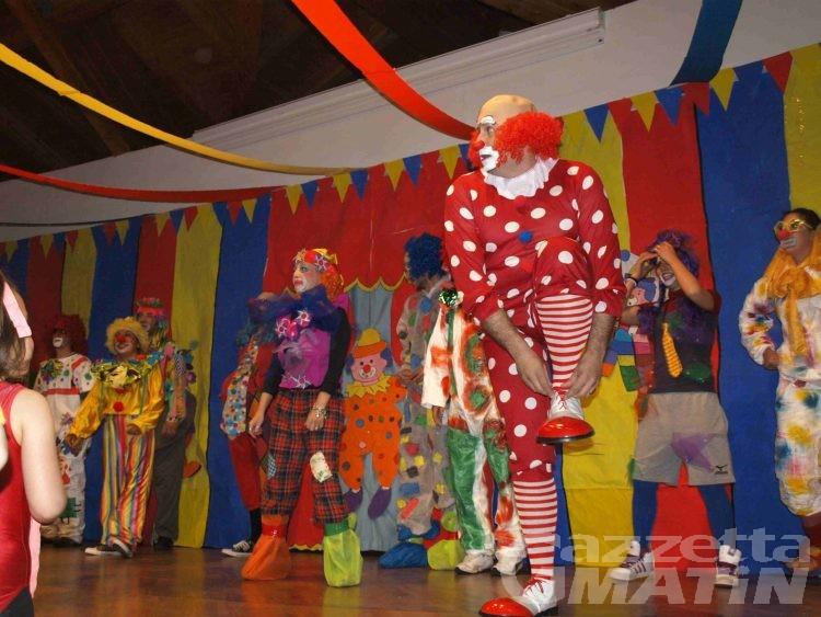 Charvensod, il circo messo in scena dalle materne di Plan Félinaz