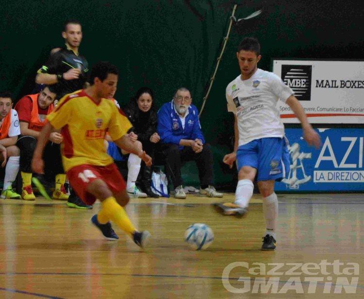 Calcio a 5: l'Aosta 511 perde e vede allontanarsi i play off