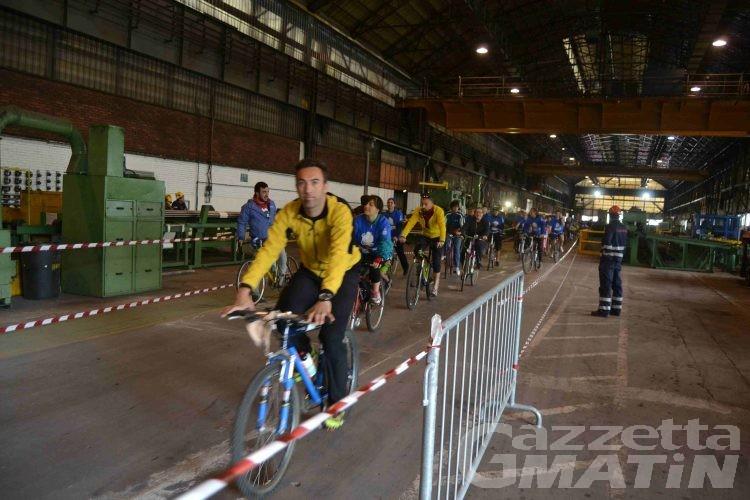 Bicincittà; Valle Virtuosa ribadisce il suo no al passaggio dei ciclisti nello stabilimento Cogne: «impianto altamente insalubre»