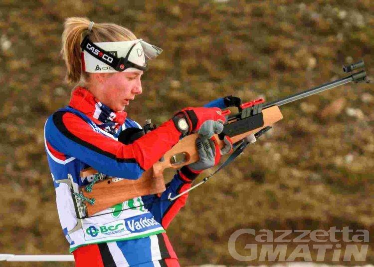 Biathlon: Michela Carrara fa due volte centro