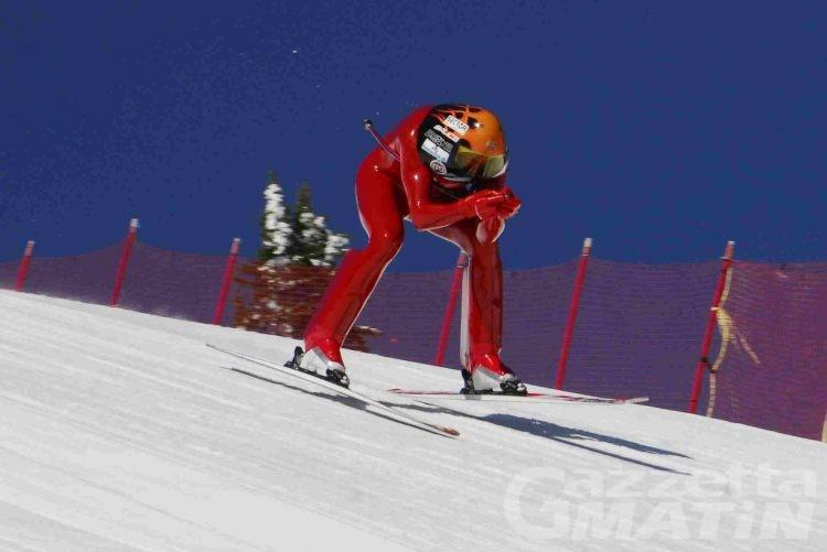 Sci di velocità: esordio vincente per Simone Origone