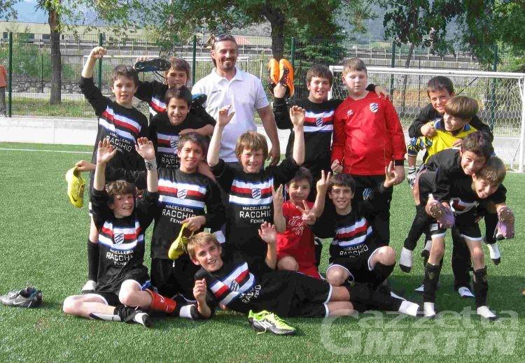 Calcio: Fenusma e Monte Cervino uniscono le forze