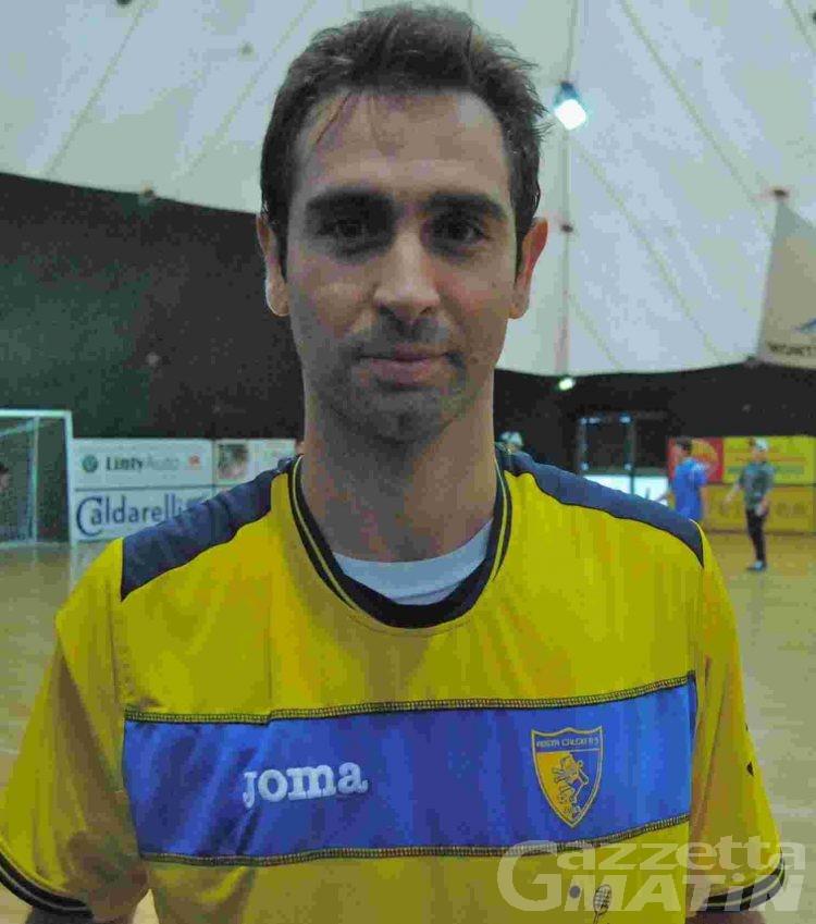 Calcio a 5: Rodrigo Rosa salva l'Aosta Pollein a Lecco