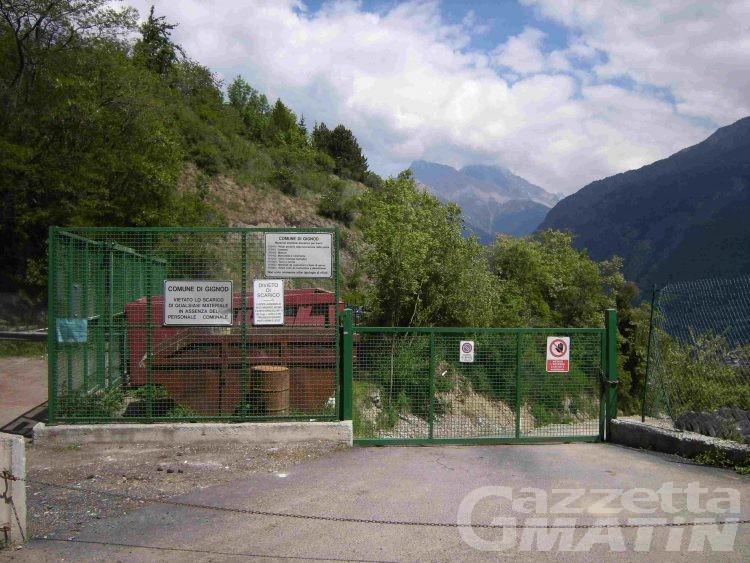 Gignod, telecamere contro l'abbandono dei rifiuti