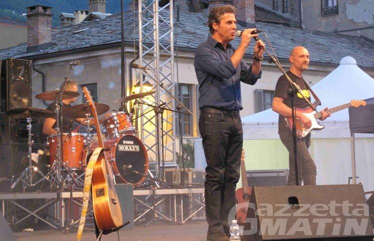 Musica: Luca Barbarossa, «Aosta è una perla»