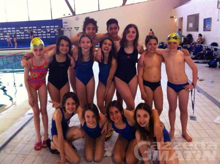 Nuoto, doppietta di Nicole Louvin sui 100 misti e 50 stile