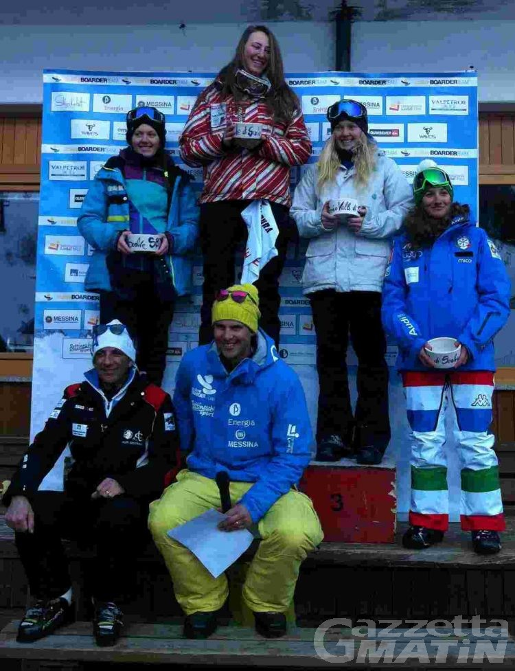 Snowboardercross: Francesca Gallina vince a Colere