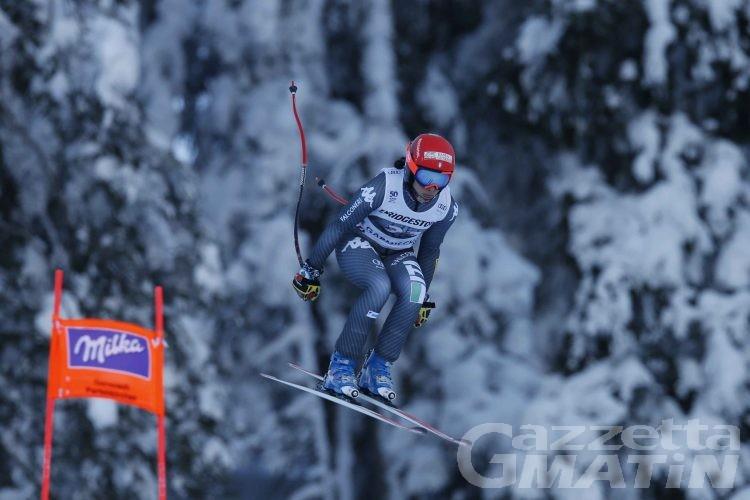 Sci alpino: Federica Brignone brilla nella libera di Cortina