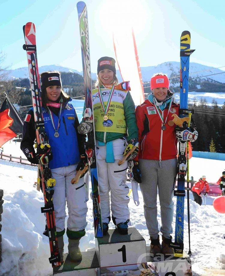 Sci alpino: Asja Zenere sul trono tricolore della discesa