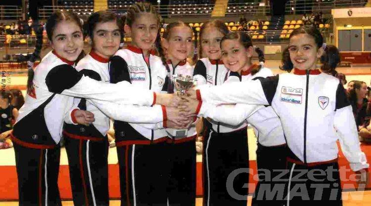 Ginnastica: l'Olimpia settima a Novara