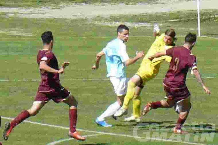 Calcio: un bel Vallée d'Aoste rallenta il Giana Erminio