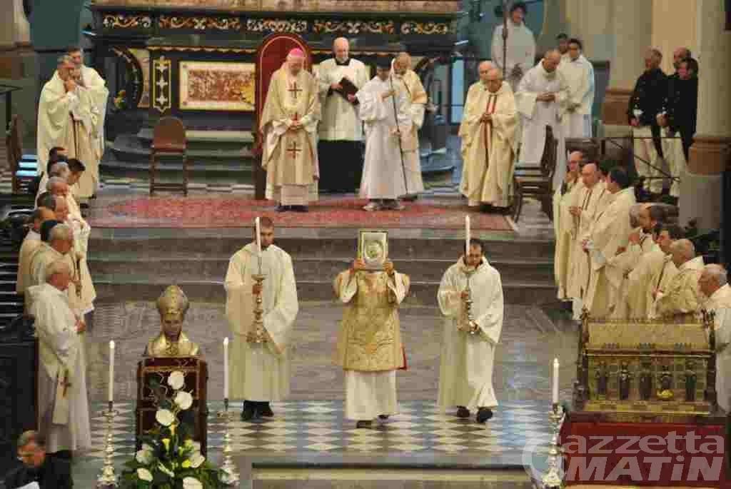 Ad Aosta si celebra il patrono san Grato