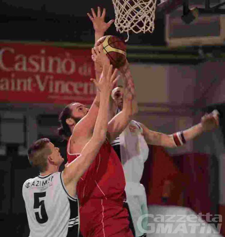 Basket: ai Lions d'Aoste il derby di Promozione