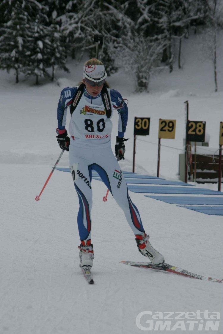 Biathlon: quattro talenti valdostani in azzurro