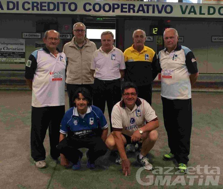 Bocce: Franco Hérin ai campionati italiani individuali di C