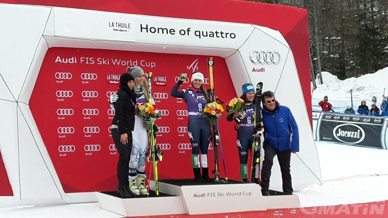 Sci alpino: Nadia Fanchini trionfa a La Thuile