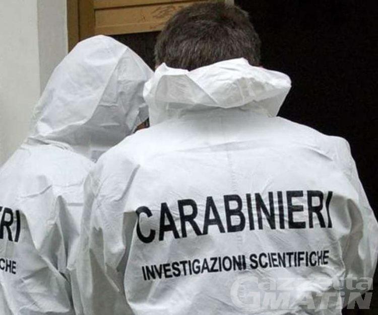 Criminalità: carabinieri Aosta e RIS di Parma risolvono cold case