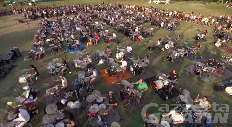 Musica: Rockin'1000 a Courmayeur, prove aperte al pubblico