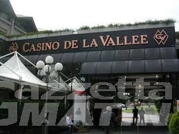 Casinò: a  Saint-Vincent maggio in perdita, a rischio pagamento stipendi
