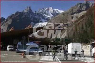 Traforo Monte BIanco: due passeur intercettati e arrestati
