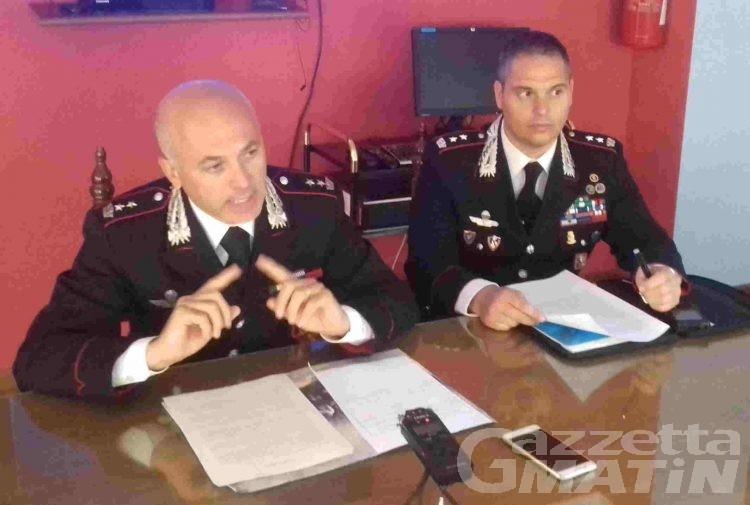 Carabinieri: «Preoccupazione per la nuova ricerca di droghe pesanti, tra cui l'eroina»