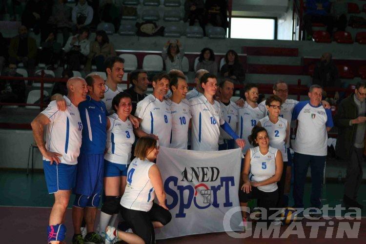 Donazione: in Valle la Nazionale di volley trapiantati