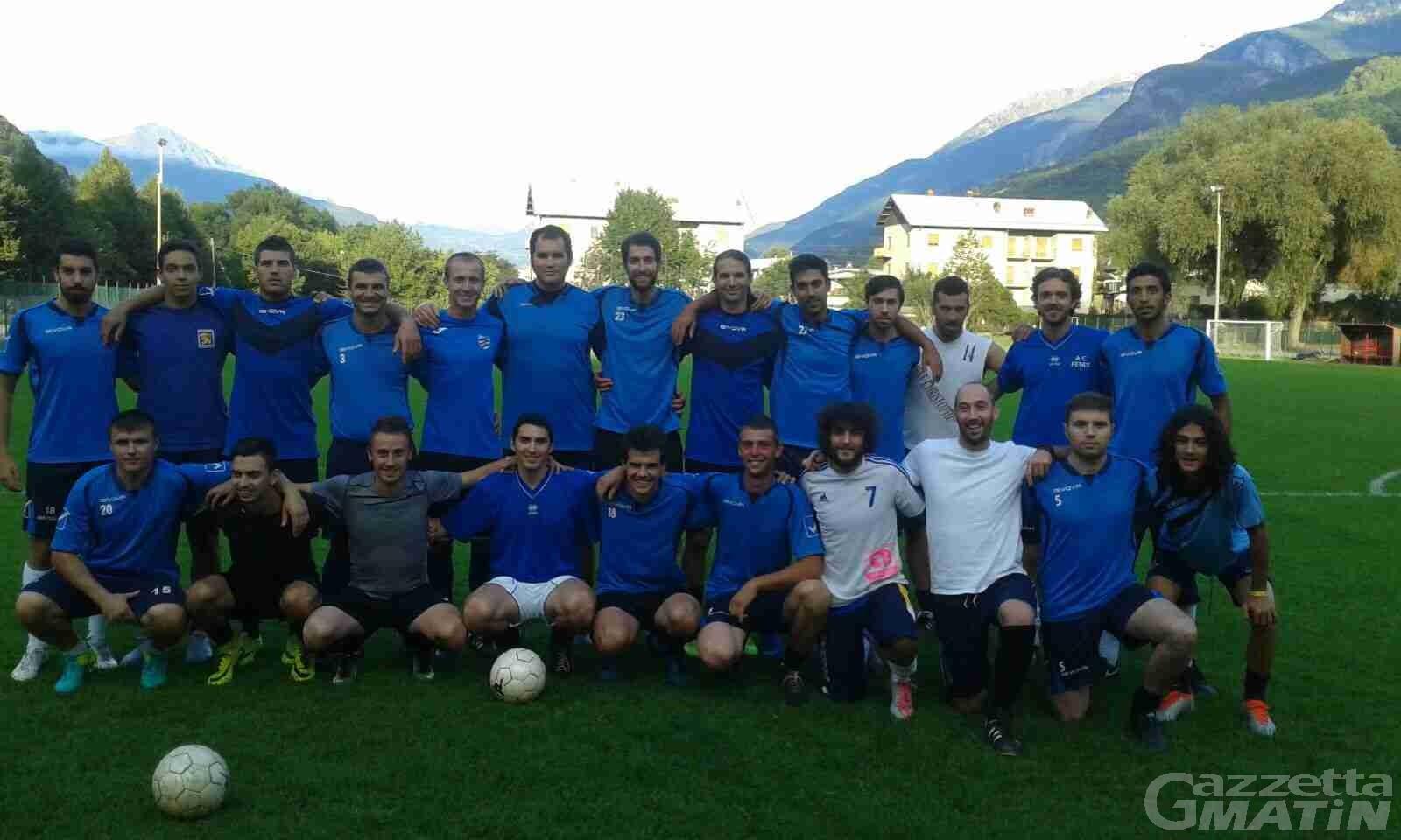 Calcio: il Fenusma vince il derby di Coppa Piemonte