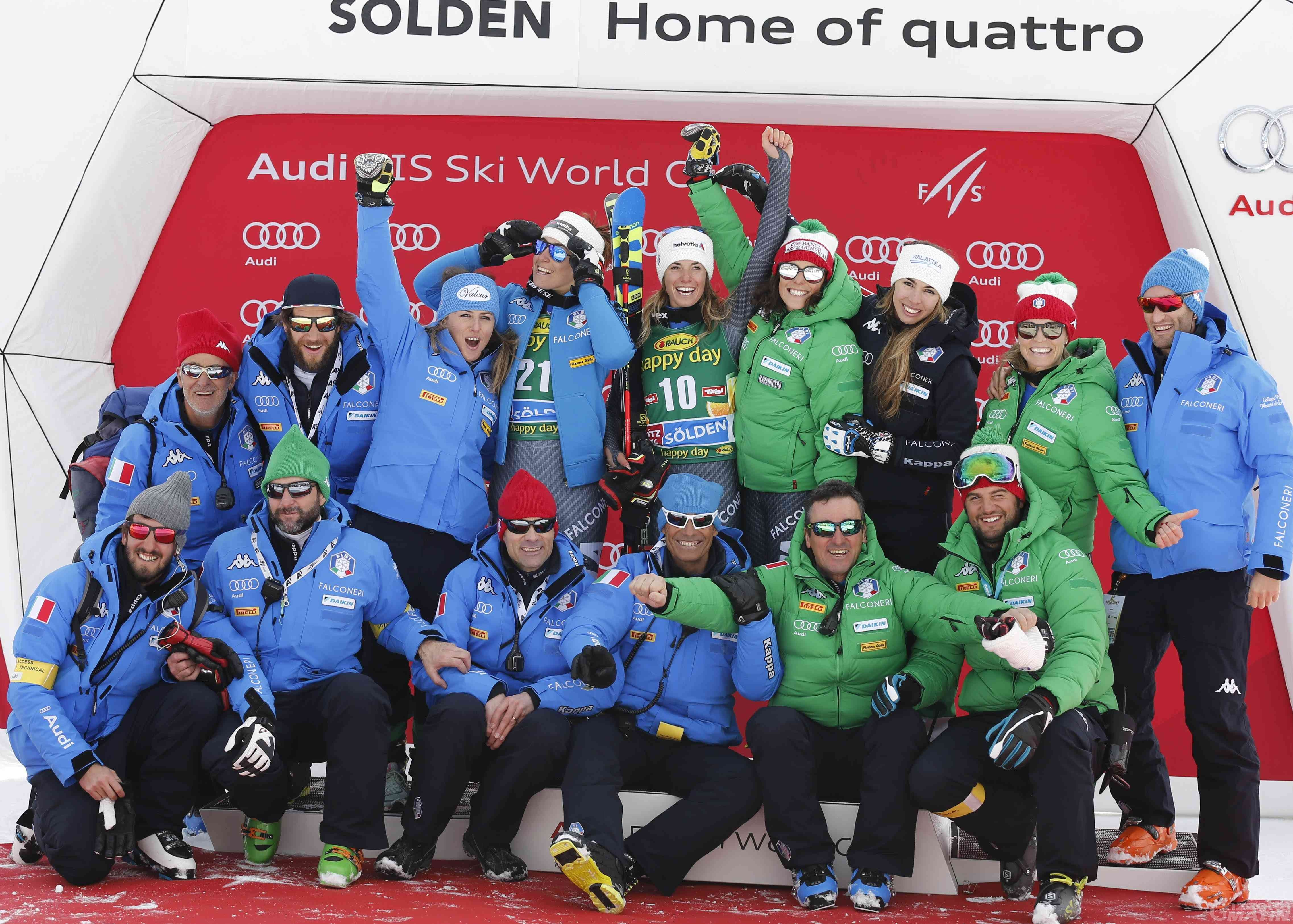 Sci alpino: Federica Brignone rinuncia a Soelden