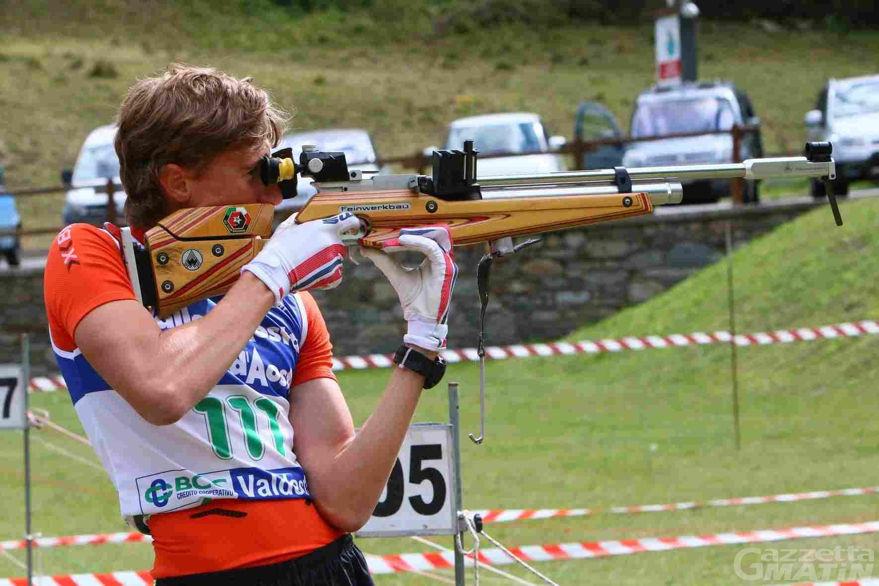Biathlon: doppio allenamento per la squadra Asiva