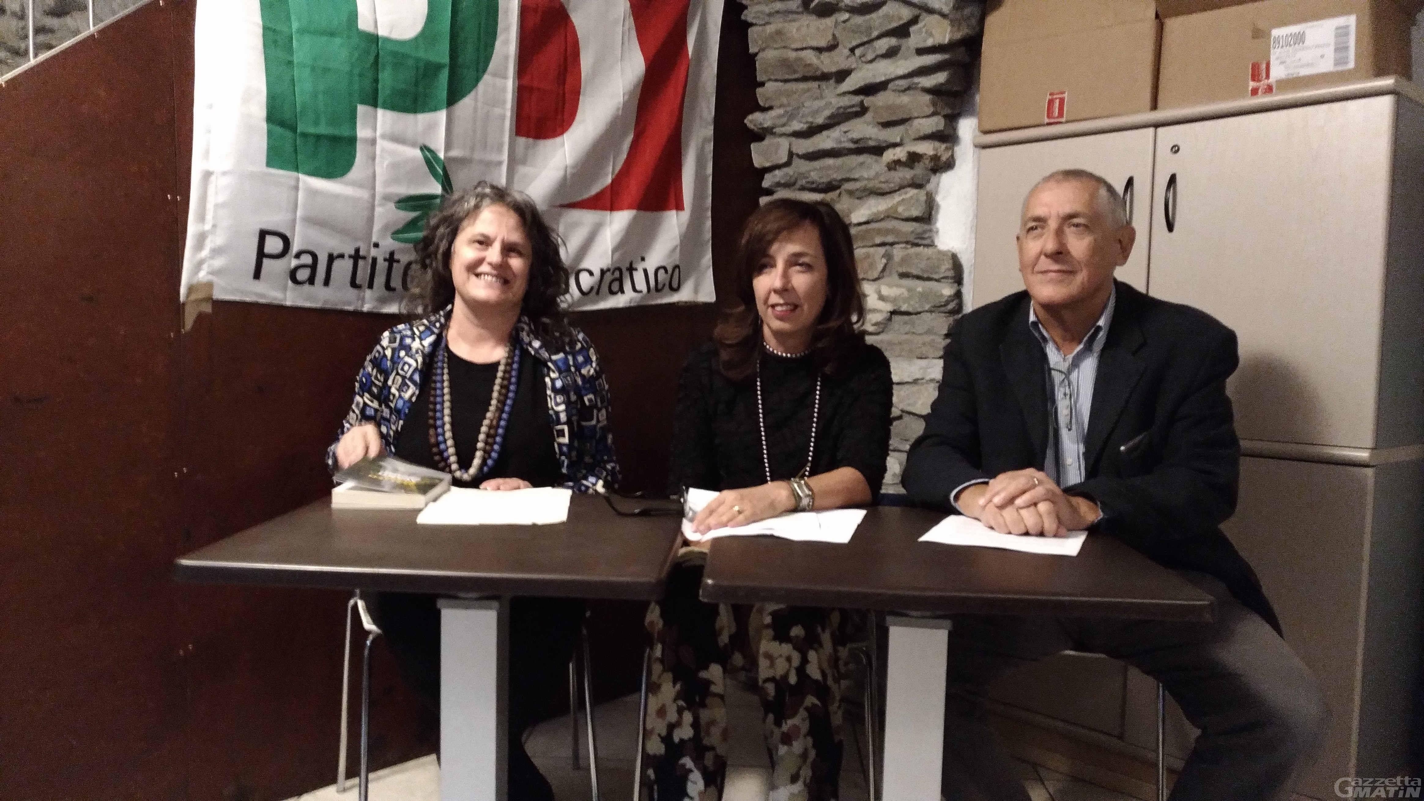 Pd:  Giovanni Sandri  presenta la mozione Avanti Valle d'Aosta