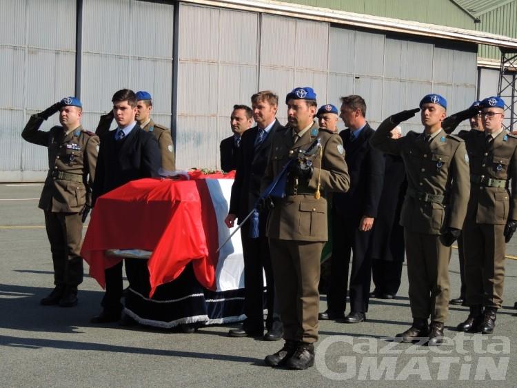 La salma del capitano dell'Esercito Pippo Parisi è tornata in Valle dopo 20 anni
