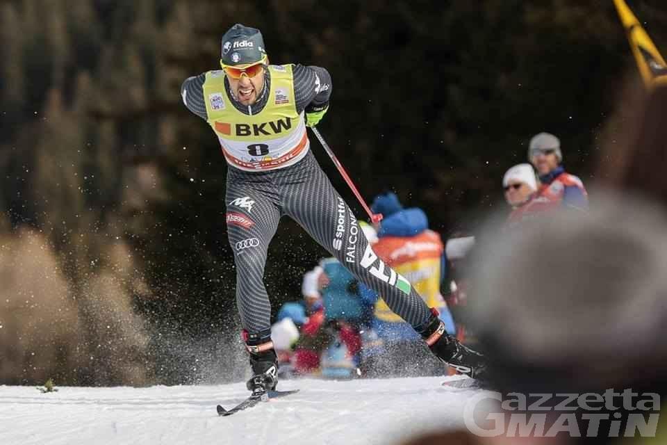 Fondo: Pellegrino secondo nella sprint di Davos