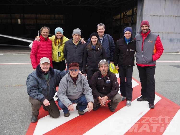 Aeroclub Valle d'Aosta: sei nuovi piloti di aliante