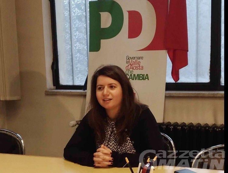 PD Valle d'Aosta, si è dimessa la segretaria: «gesto di responsabilità»
