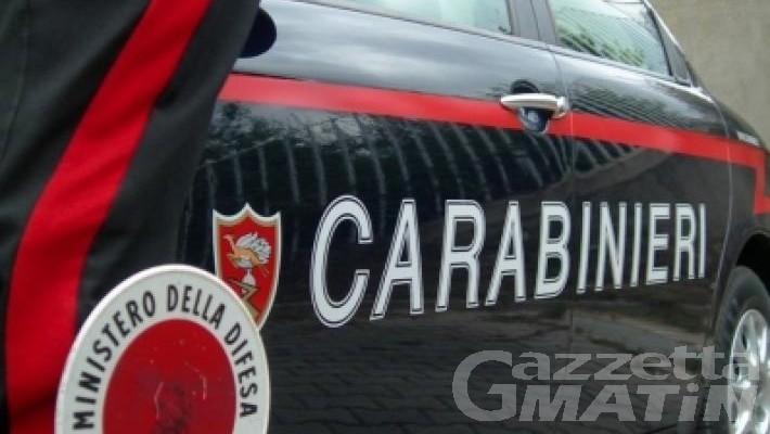 Cogne, operaio ruba 500 euro a un amico: preso dai Carabinieri