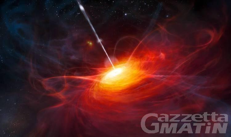 Astrofisica: scoperto a Saint-Barthélemy fascio di luce da buco nero