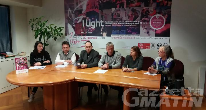 I light Pila: sport, divertimento e solidarietà