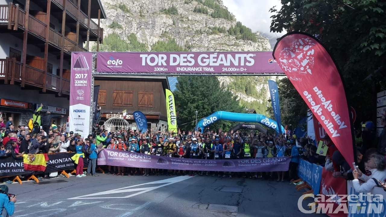 Trail: il Tor des Geants 2018 partirà il 9 settembre con diverse novità